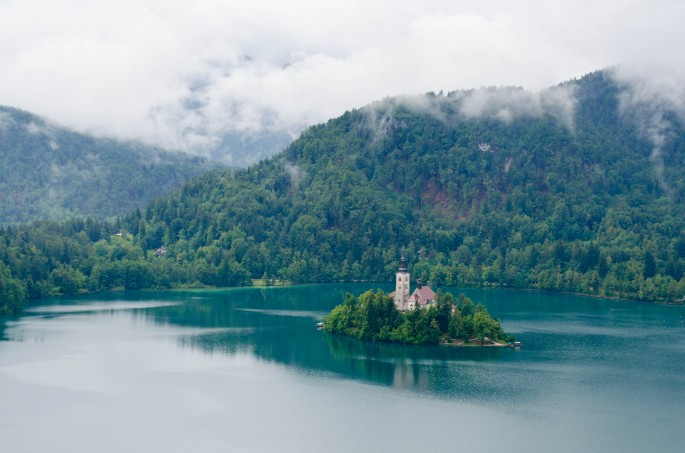 Church on Lake Bled