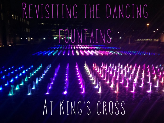 Fountains at King's Cross