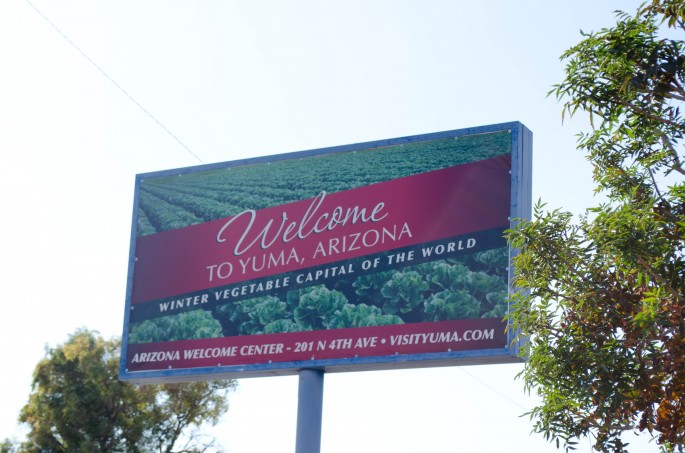 Yuma is the self-confessed Winter Vegetable Capital of the World