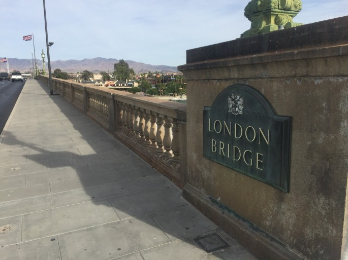 How to walk across london bridge arizona for Design agency london bridge