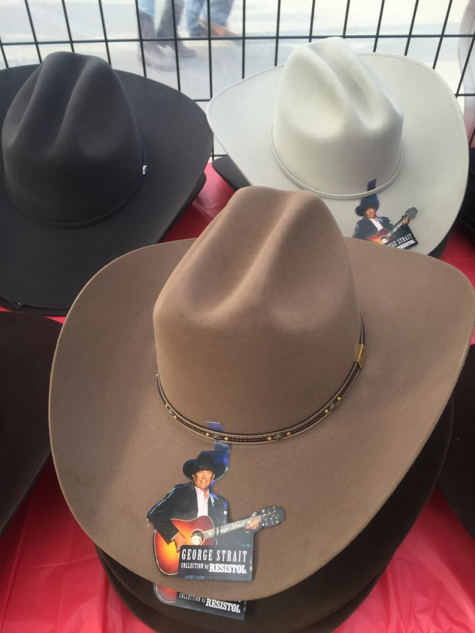Cowboy Hats for sale at Cloverdale Rodeo