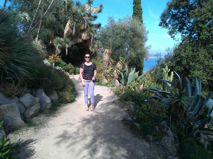Visiting gardens on The French Riviera