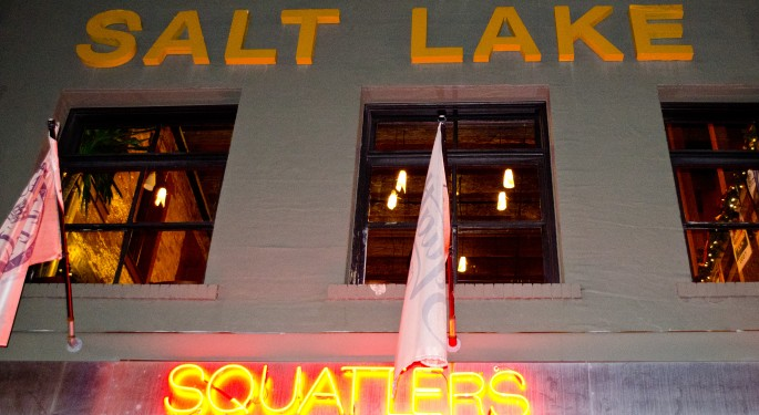 Squatters brewery Salt Lake 24 hours in Salt lake City