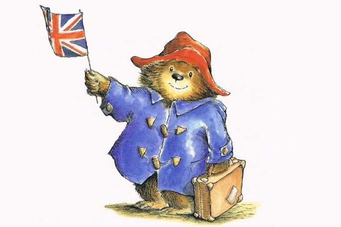 Paddington: Flying the flag for British bears. And Peruvian ones.