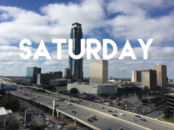 weekend in Houston