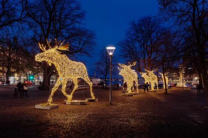 Stockholm at Christmas