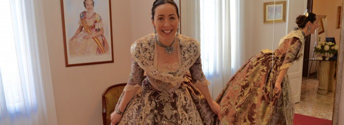 Queen of Fallas for a day
