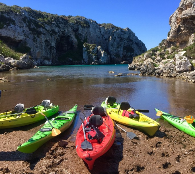 Things to do in Menorca: Kayak the coves and caves