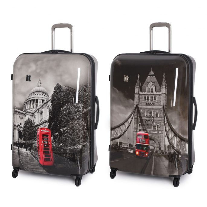 Bound for London - perhaps I should have bought this luggage?