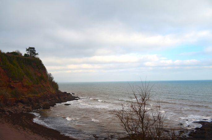 Maidencombe Beach Devon