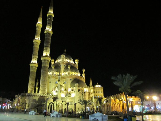 Al Sahaba Mosque in the Old Market, Sharm