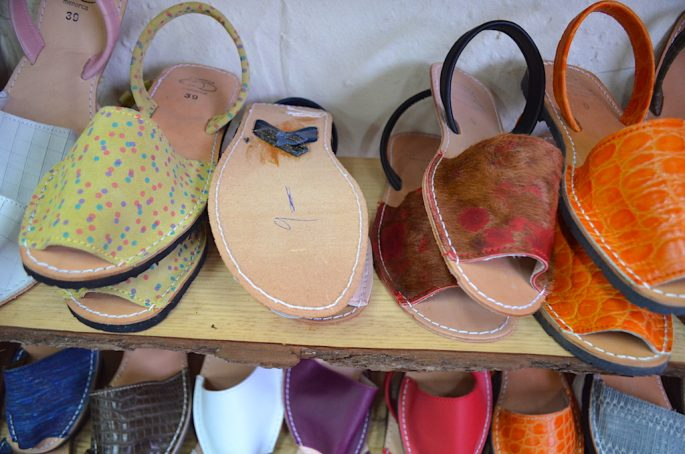 buy shoes in Menorca