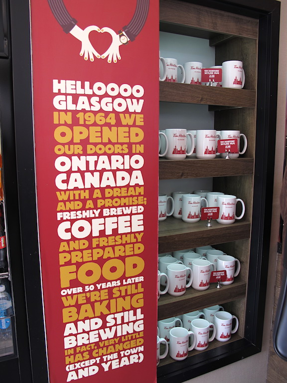 Tim Hortons mugs