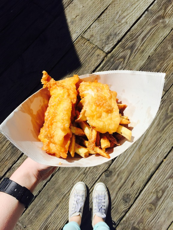 British food in Vancouver