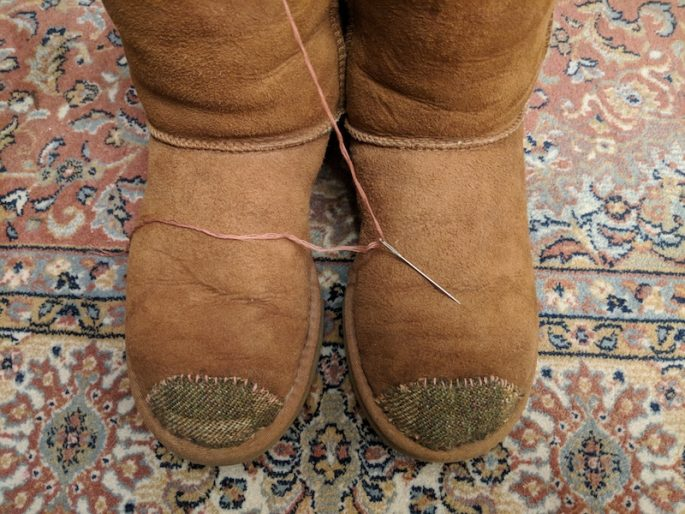 Fixing UGG Boots
