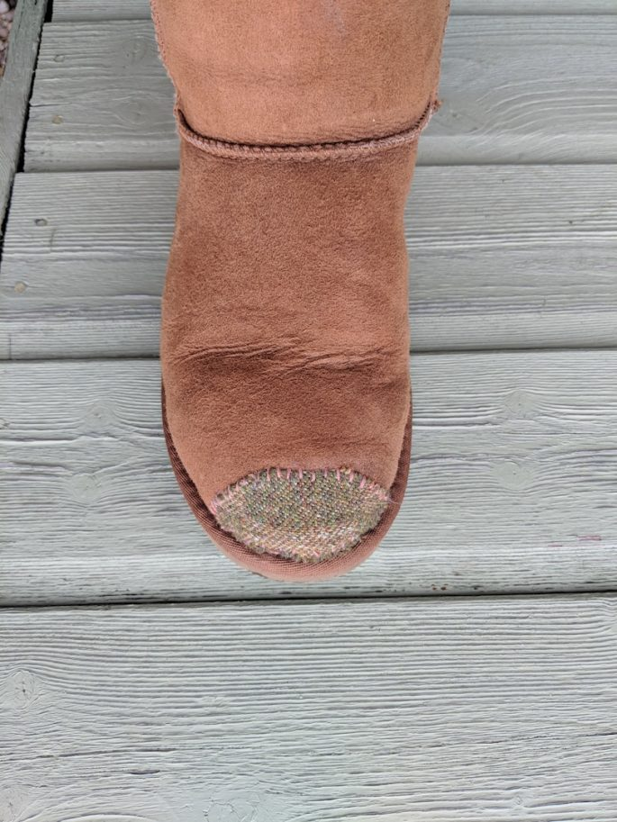 patched UGG Boots