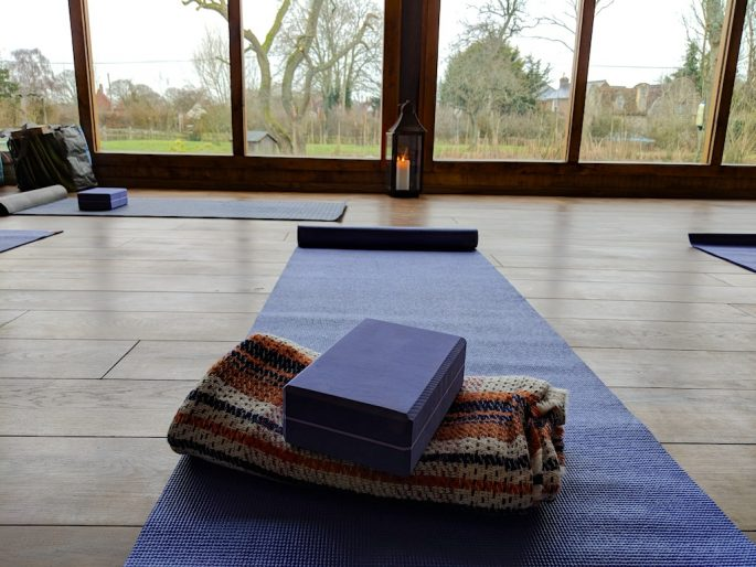 Artist and yoga retreat Kent