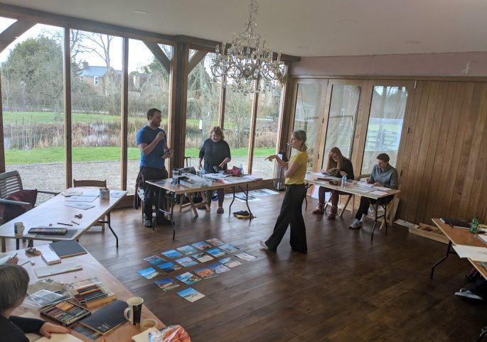 artist retreat Kent