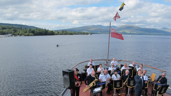 maid of the loch band