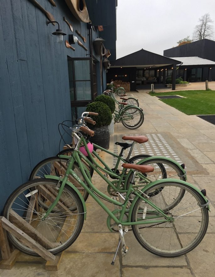 Soho Farmhouse bikes