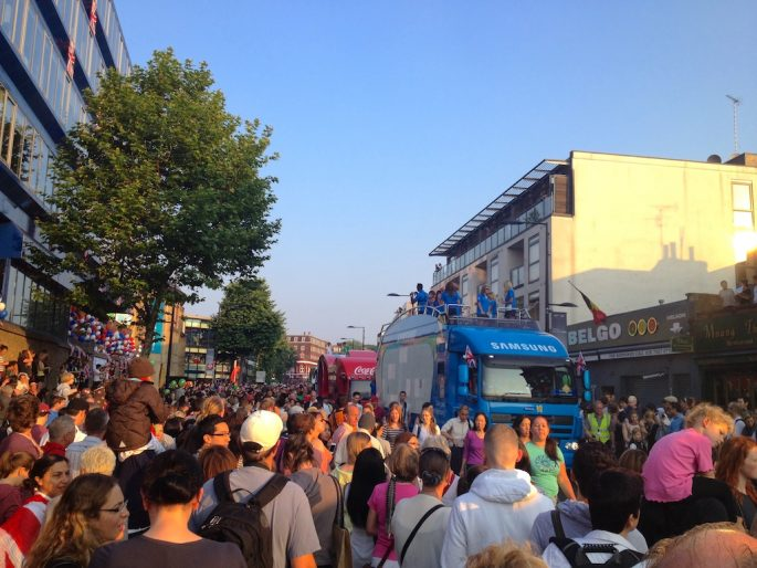 Camden Town during Olympics