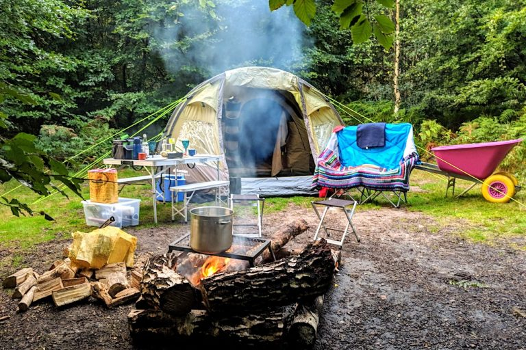 Weekend Shortcut: Eco Camping In Sussex Woodland at Beech Estate
