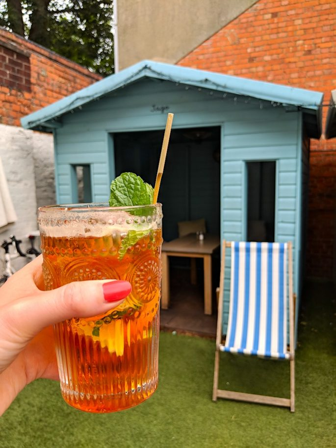 Pimms O'clock in Salisbury