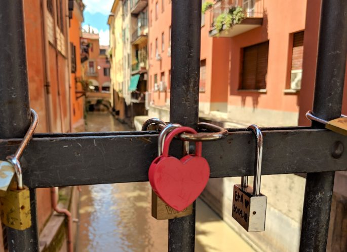 Love Locks in Bologna