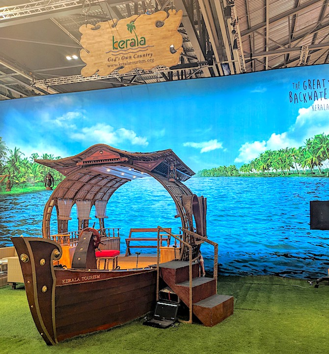 visiting WTM in 2019 - Kerala