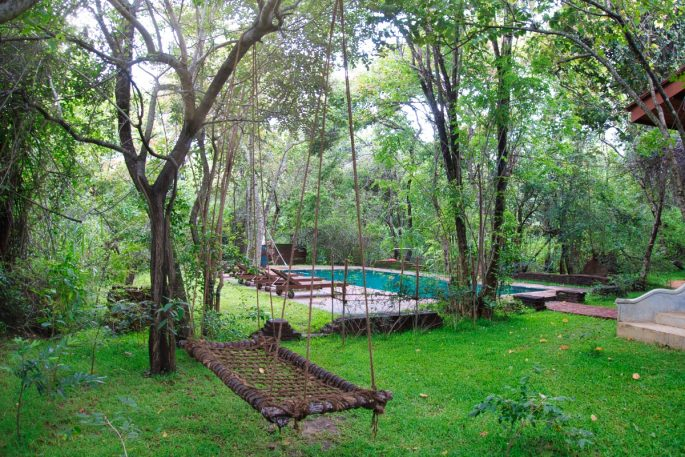Swimming pool at Mahagedara Retreat Sri Lanka