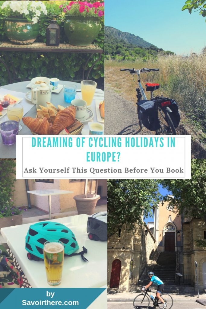 self guided Cycling holidays Pinterest