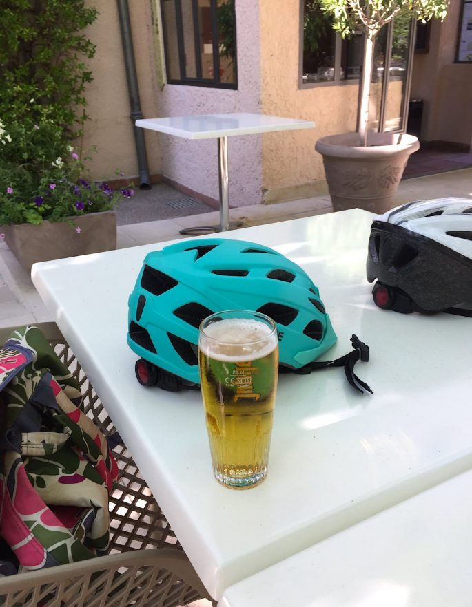 cycling and beer