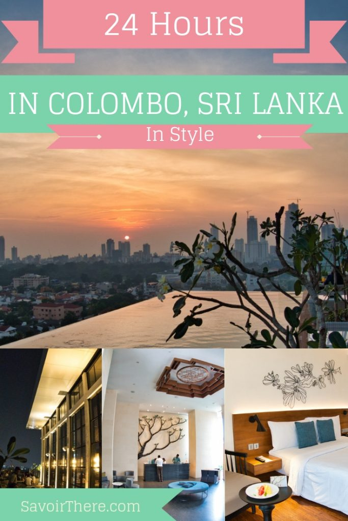 1 Day In Colombo in Style poster