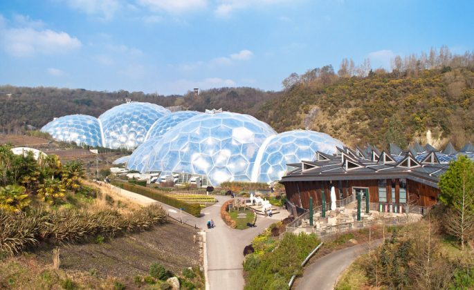 The Eden Project - image by Lucy Dodsworth