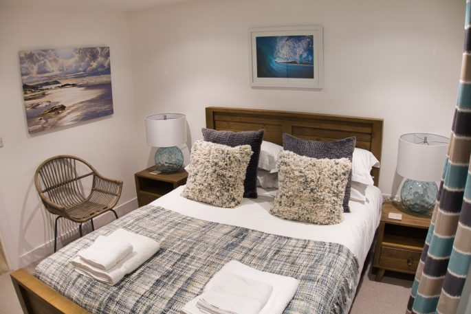 Short breaks in Cornwall in winter, bedroom design
