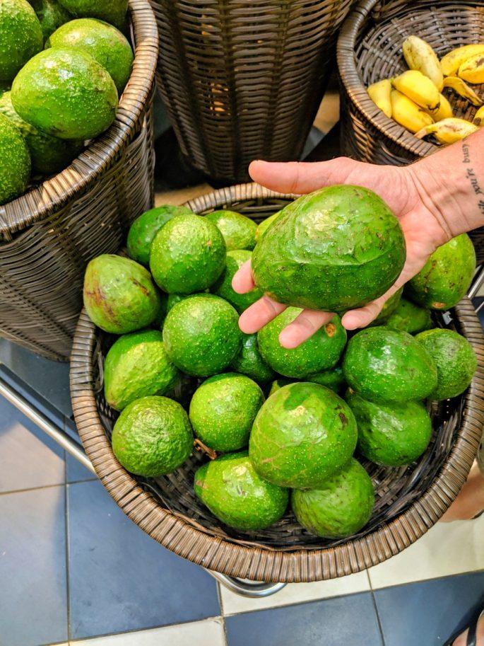 that's one big avocado