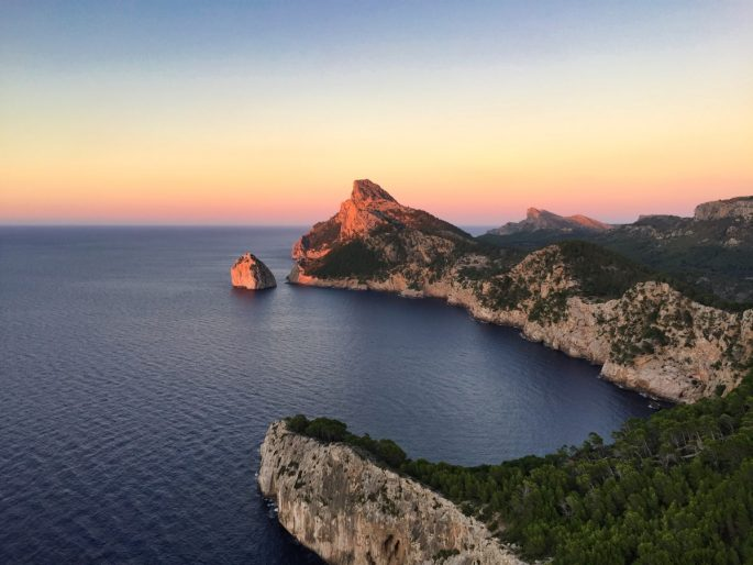 Cap de Formentor at sunset