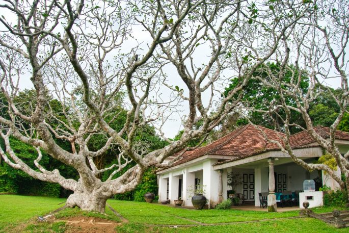 Lunuganga estate building