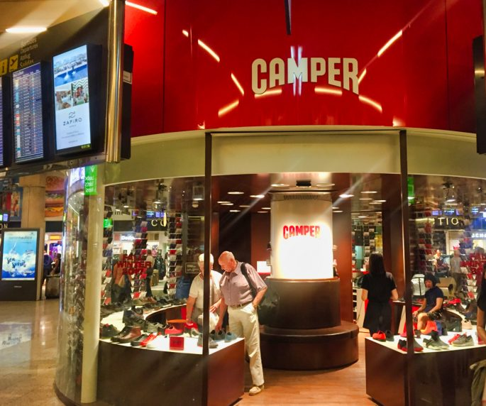 camper shoe shop Mallorca