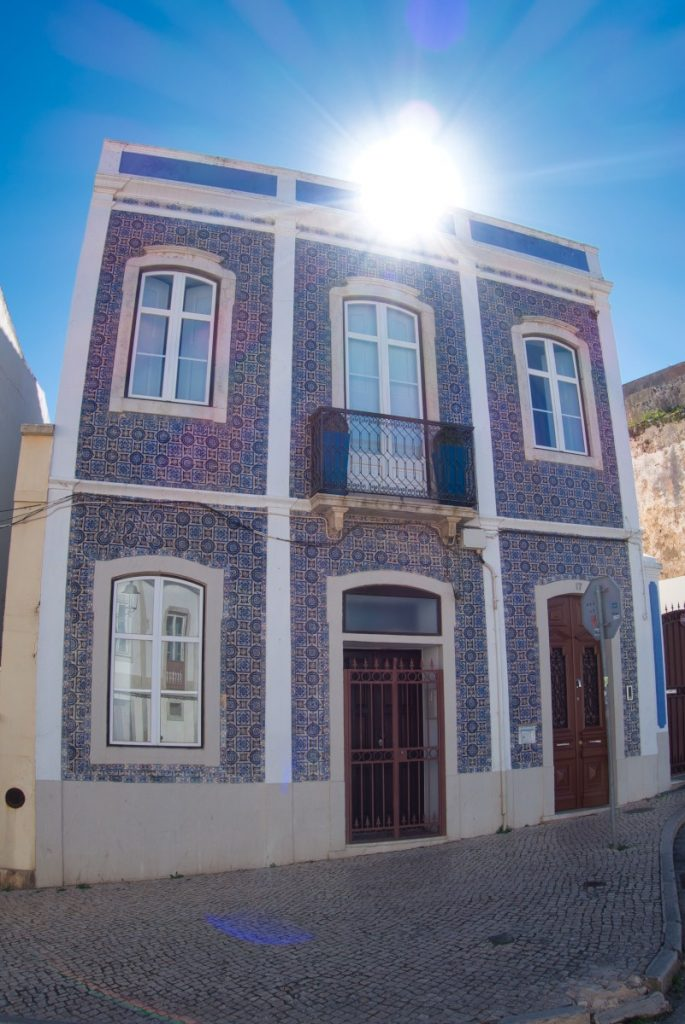 tiled house in Lagos