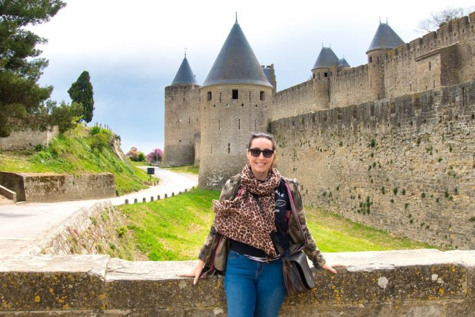 On a visit to Carcassonne in 2019