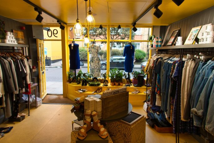 Things to do near the shard - charity shop