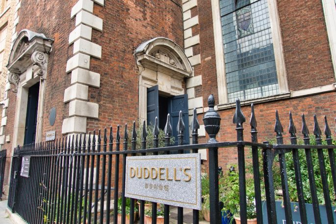 Things to do near the shard - duddells exterior
