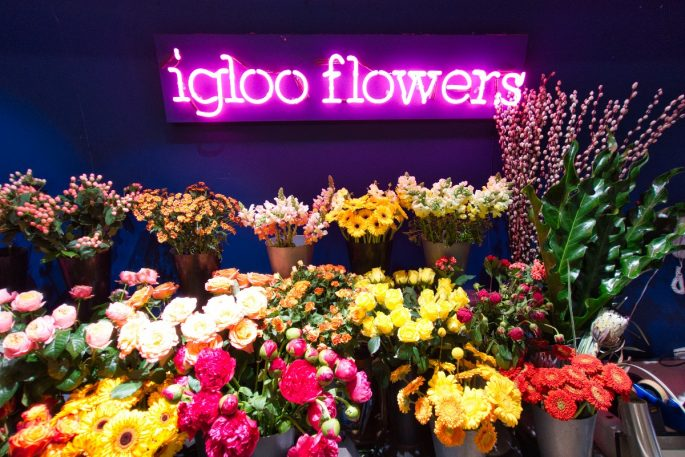 things to do near the shard flowers