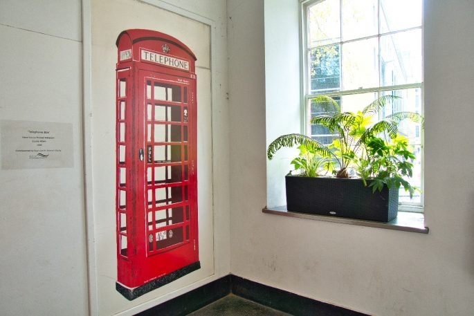 things to do near the shard phone box