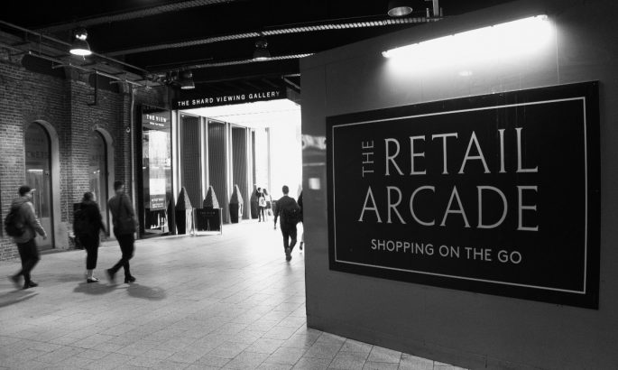 things to do near the shard shard retail arcade