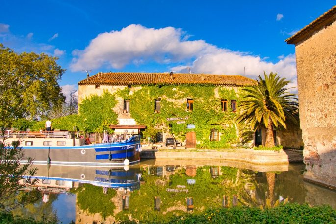 barge cruise on the Canal du Midi