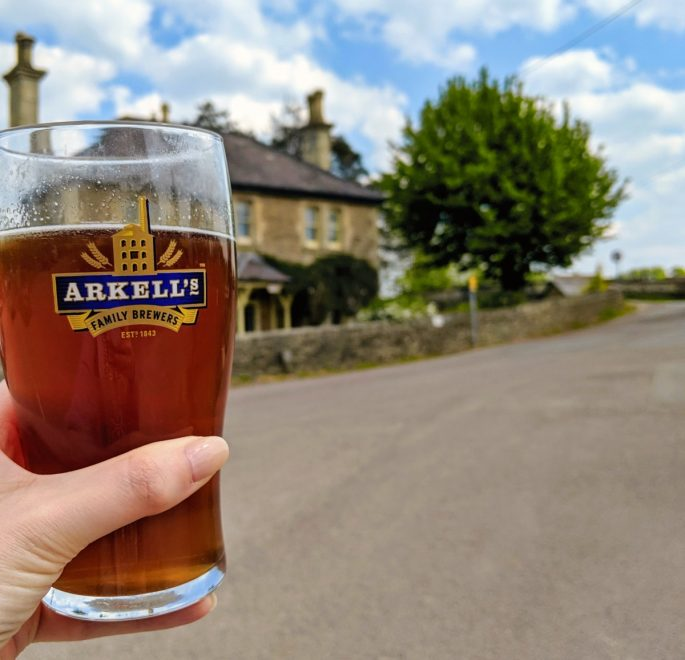 Pint of Arkells Cotswolds Beer