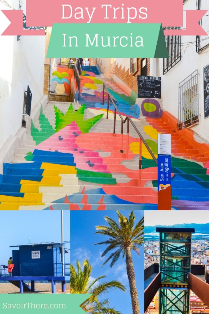 Murcia Day trips Pinterest Pin Image