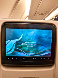 Sri Lankan Airways In flight entertainment